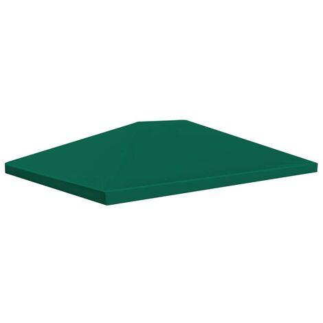 Hommoo Gazebo Top Cover 310 g/m2 4x3 m Green VD28970