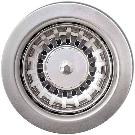 Hommoo Granite Kitchen Sink Double Basins White QAH06246