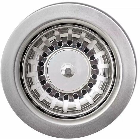 Hommoo Granite Kitchen Sink Single Basin Grey QAH04963