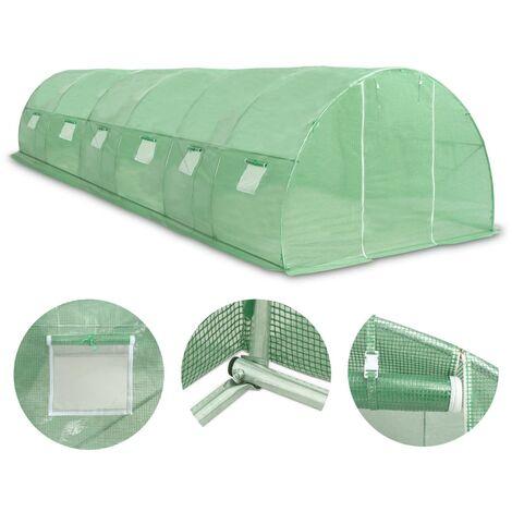 Hommoo Greenhouse 27m2 900x300x200 cm QAH29667