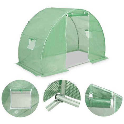 Hommoo Greenhouse 4.5m2 300x150x200 cm QAH29663