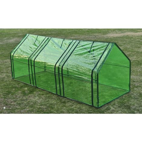 Hommoo Greenhouse with 3 Doors VD26207