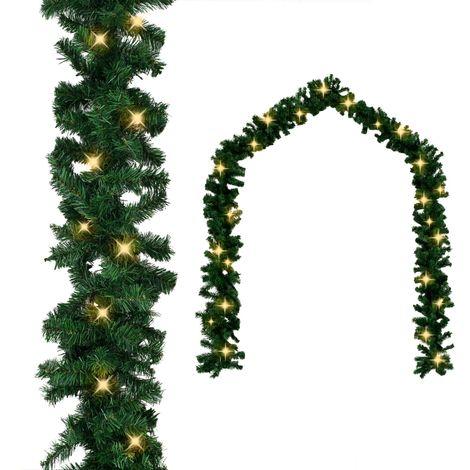 Hommoo Guirnalda de navidad con luces LED 20 m