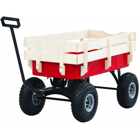 Hommoo Hand Trolley 150 kg Red QAH06512