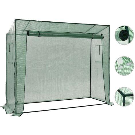 Hommoo Invernadero accesible de pie 200x80x173 cm