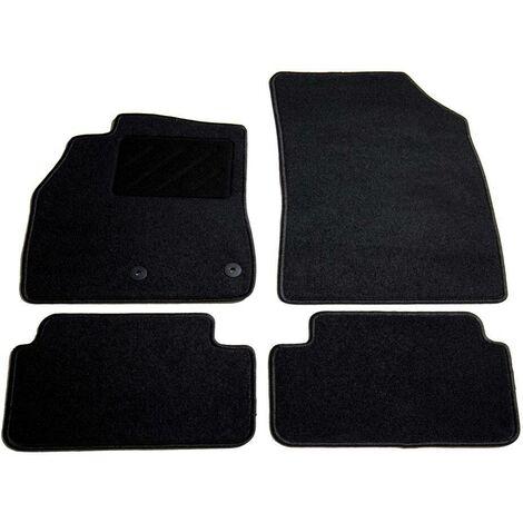 Hommoo Jeu de tapis de voiture 4 pcs pour Renault Megane III Estate HDV01854