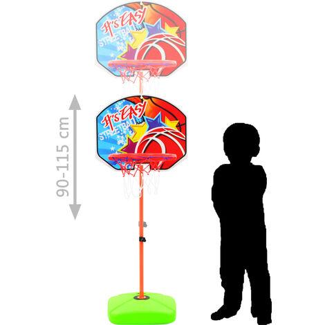 Hommoo Kids' Basketball Hoop and Ball Set QAH31910