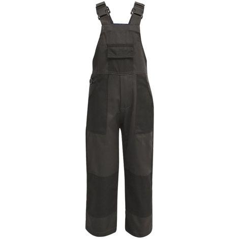 Hommoo Kid's Bib Overalls Size 122/128 Grey