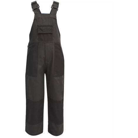 Hommoo Kid's Bib Overalls Size 98/104 Grey