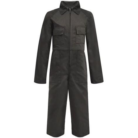 Hommoo Kid's Overalls Size 110/116 Grey
