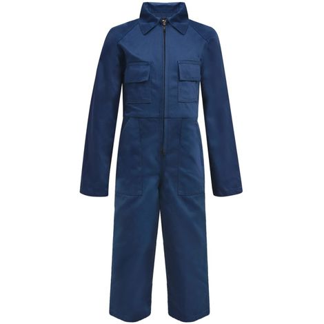Hommoo Kid's Overalls Size 122/128 Blue
