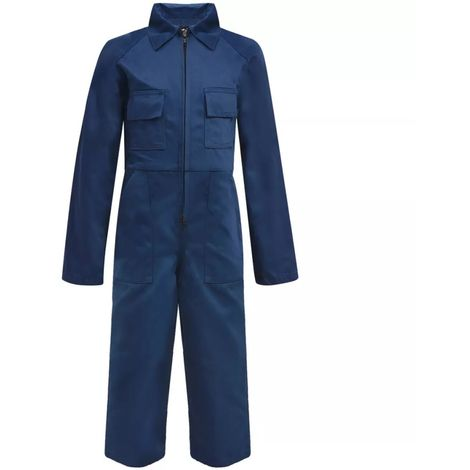 Hommoo Kid's Overalls Size 134/140 Blue