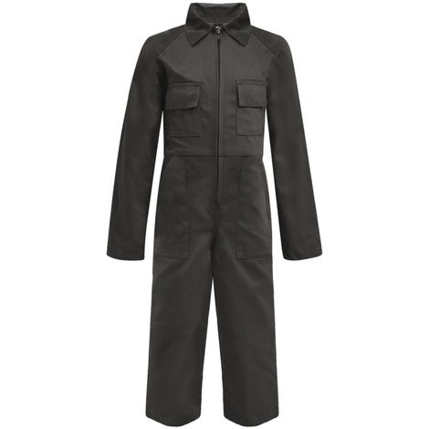 Hommoo Kid's Overalls Size 146/152 Grey