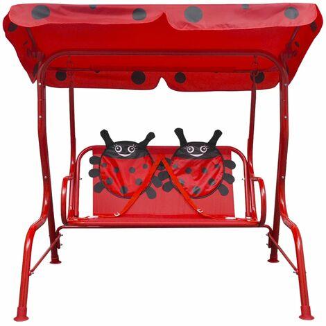 Hommoo Kids Swing Seat Red QAH26720