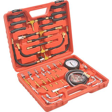 Hommoo Kit de verificación de la presión de inyección de combustible