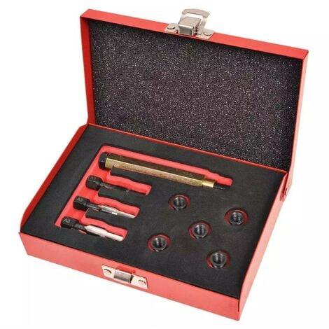 Hommoo Kit réparation bougie de préchauffage 9 pcs M8x1,0 mm HDV07825