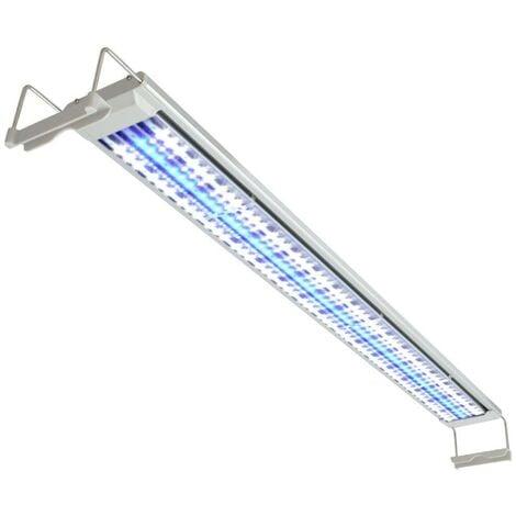 Hommoo Lámpara LED de acuario 120-130 cm aluminio IP67