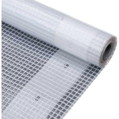Hommoo Leno Tarpaulin 260 g/m2 2x2 m White VD29673