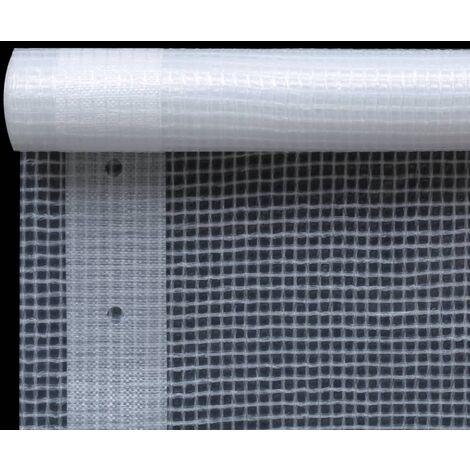 Hommoo Leno Tarpaulin 260 g/m2 3x6 m White QAH29685
