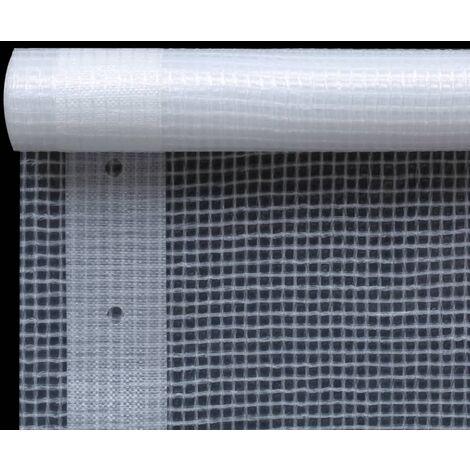 Hommoo Leno Tarpaulin 260 g/m2 4x5 m White QAH29692