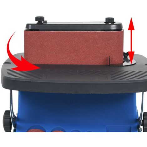 Lijadora de tambor oscilante