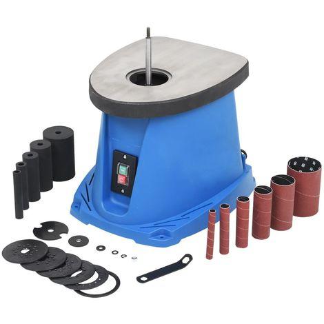 Hommoo Lijadora de huso oscilante 450 W azul