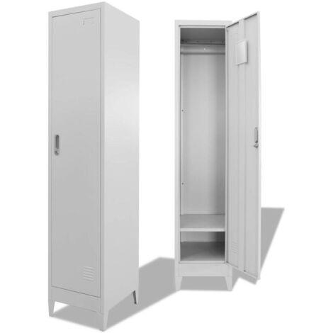 Hommoo Locker Cabinet 38x45x180 cm