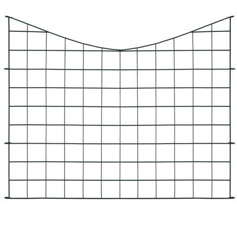 Hommoo Lower Arch Pond Fence Set 77.5x64 cm Green QAH35462