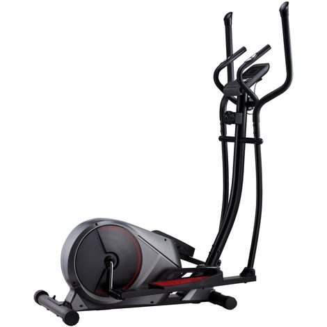 Hommoo Magnetic Elliptical Trainer with Pulse Measurement