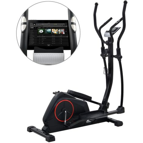 Hommoo Magnetic Elliptical Trainer with Pulse Measurement XL