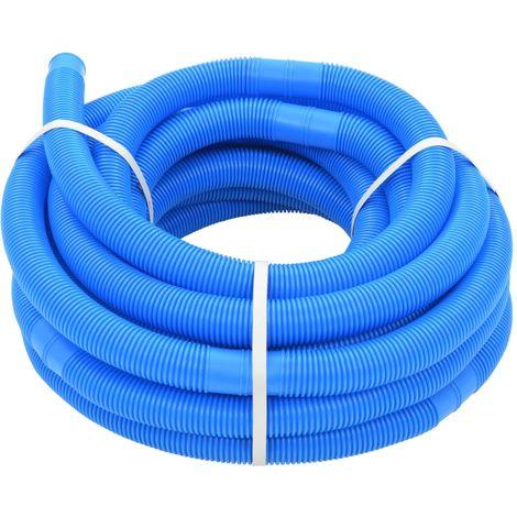 Hommoo Manguera de piscina azul 38 mm 15 m
