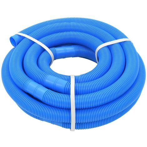 Hommoo Manguera de piscina azul 38 mm 9 m