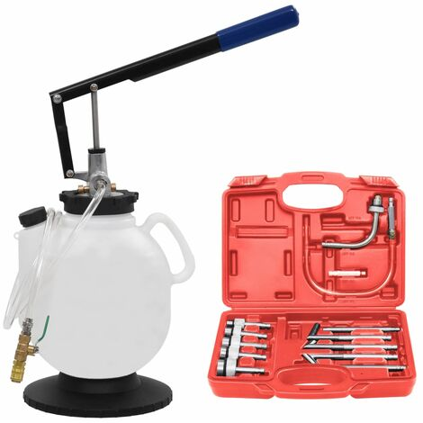 Hommoo Manual Automatic Transmission Fluid Filler with Tool Set 7.5 L QAH07959