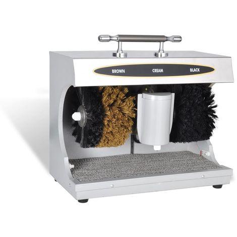 Hommoo Máquina limpiabotas pulidora de zapatos eléctrica automática