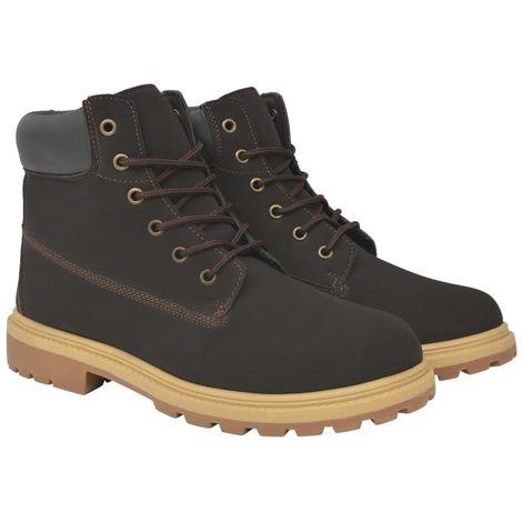 Hommoo Men's Boots Brown Size 7.5