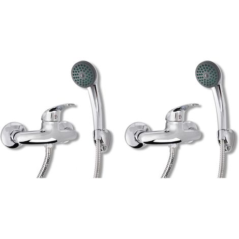 Hommoo Mixer Showers 2 pcs VD18810