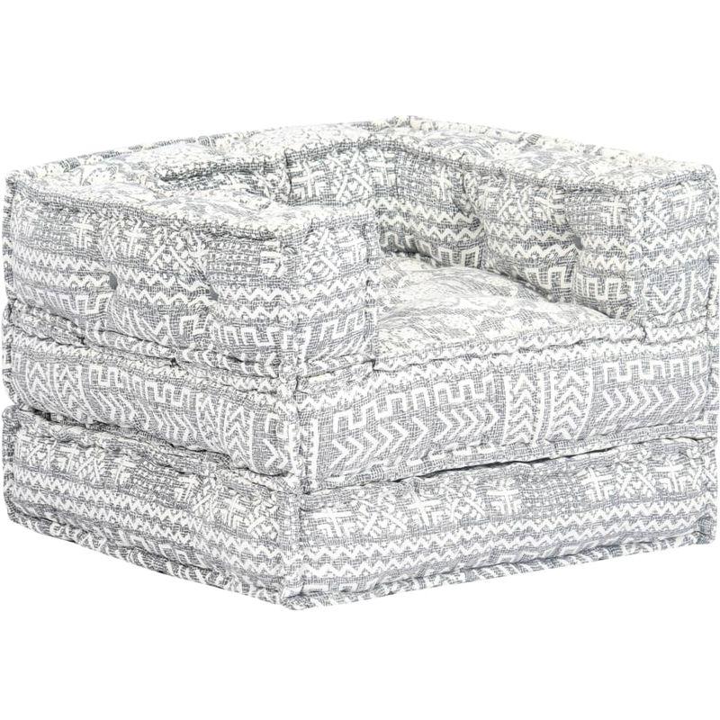 Modularer Sessel Grau Stoff VD14454 - Hommoo