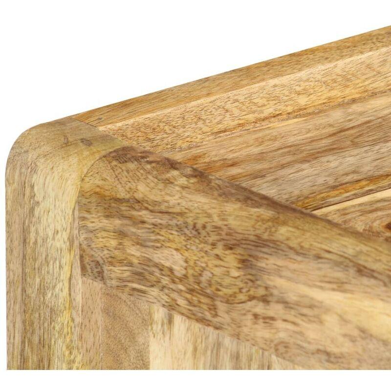 Nachttisch 40 x 35 x 50 cm Massivholz Mango VD36750 - Hommoo