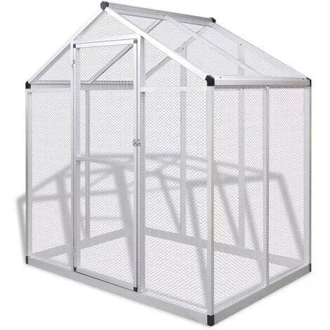 Hommoo Outdoor Aviary Aluminium 178x122x194 cm