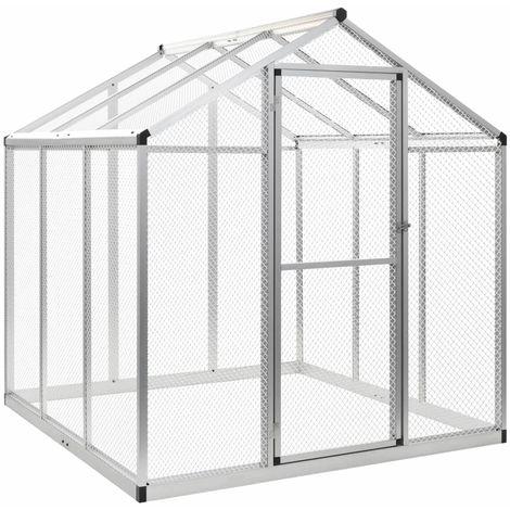 Hommoo Outdoor Aviary Aluminium 183x178x194 cm