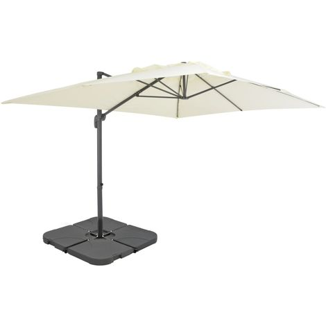 Hommoo Outdoor Umbrella with Portable Base Sand