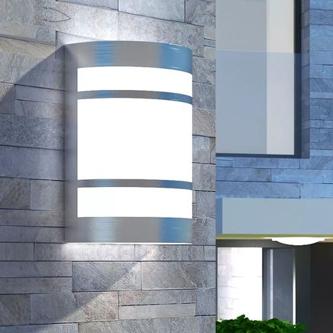 Hommoo Outdoor Wall Light Stainless Steel VD26864