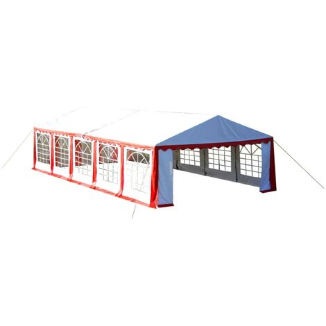 Hommoo Party Tent 10 x 5 m Red QAH06755