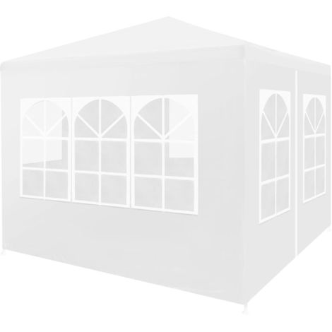 Hommoo Party Tent 3x3 m White VD29248