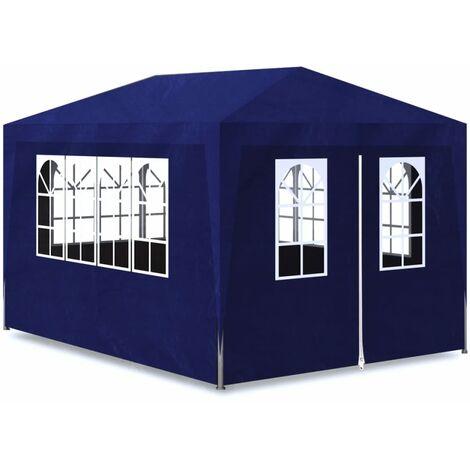 Hommoo Party Tent 3x4 m Blue QAH31948