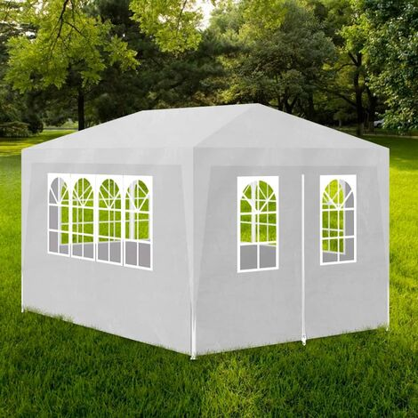 Hommoo Party Tent 3x4 m White VD31947