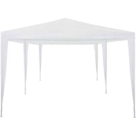 Hommoo Party Tent 3x6 m PE White QAH29231