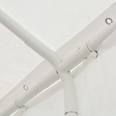 Hommoo Party Tent PE 6x16 m White QAH39113