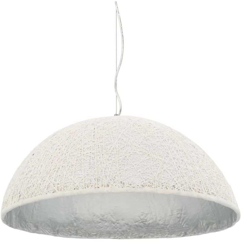 Hommoo Pendelleuchte Weiß und Silbern ø70 cm E27 VD30769