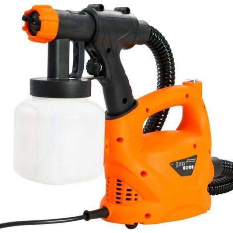 Hommoo Pistola de pintura eléctrica con manguera de aire 500 W 800 ml